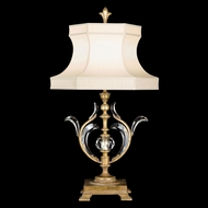 Fine Art Lamps 762010 Beveled Arcs Gold Gold Fluorescent Table Top Lamp