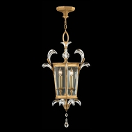 Fine Art Lamps 762340 Beveled Arcs Gold Gold Fluorescent Foyer Light Fixture