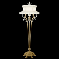 Fine Art 768620 Beveled Arcs Gold 72 Inch Tall Gold Leaf Finish Standing Floor Lamp