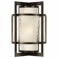 Fine Art 818281 Singapore Outdoor Contemporary Large Dark Bronze Wall Lighting