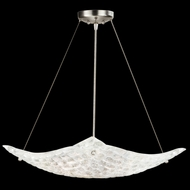 Fine Art Handcrafted Lighting 841240 Constructivism Silver LED Lighting Pendant