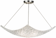 Fine Art Handcrafted Lighting 841340 Constructivism Silver LED Pendant Lamp