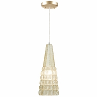 Fine Art Lamps 845040 Constructivism Modern 15  Tall Mini Pendant Lighting Fixture