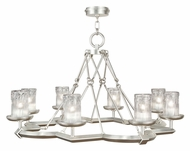 Fine Art 860340 Liaison 40 Inch Diameter Transitional Chandelier Light With Finish Options