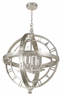 Fine Art 861240 Liaison 4 Candle 26 Inch Diameter Transitional Chandelier Lamp