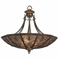 Fine Art Lamps 179942 Villa 1919 Traditional Rich Umber Pendant Light
