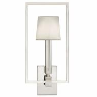 Fine Art Lamps 211250 Grosvenor Square Polished Nickel Finish 9  Wide Wall Lighting