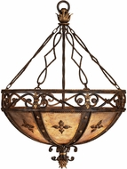 Fine Art Lamps 218142 Castile Traditional Antiqued Iron Pendant Lamp