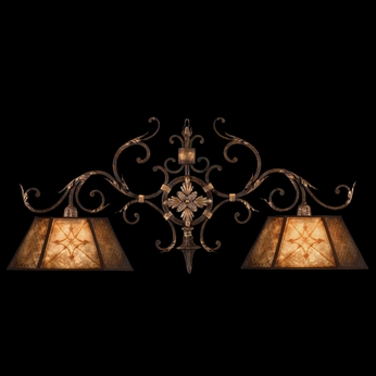 Fine Art Lamps 236840 Villa 1919 Small 2 Lamp Traditional Country Kitchen Island Lighting Fixture