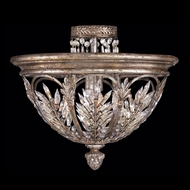 Fine Art Handcrafted Lighting 300440 Winter Palace Silver Ceiling Light Fixture
