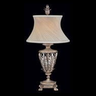 Fine Art Handcrafted Lighting 301610 Winter Palace Silver Table Top Lamp