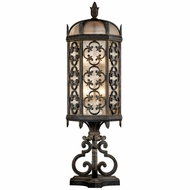Fine Art Lamps 324980 Costa del Sol Traditional Wrought Iron Exterior Pier Mount