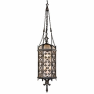 Fine Art Lamps 325282 Costa del Sol Traditional Wrought Iron Outdoor Hanging Pendant Light