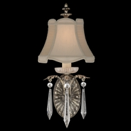 Fine Art Lamps 327650 Winter Palace Small Traditional Crystal Wall Sconce with Shade