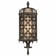 Fine Art Lamps 329681 Costa del Sol Traditional Wrought Iron Exterior Wall Sconce Light