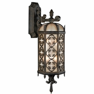 Fine Art Lamps 338381 Costa del Sol Traditional Wrought Iron Outdoor Wall Lighting