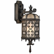 Fine Art Handcrafted Lighting 338581 Costa del Sol Traditional Wrought Iron Exterior Sconce Lighting