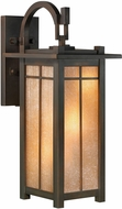 Fine Art Lamps 401281ST Capistrano Craftsman Bronze Outdoor 36  Wall Lighting