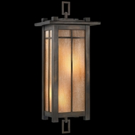 Fine Art Lamps 401581 Capistrano 28 inch outdoor coupe light in warm bronze patina