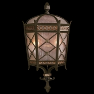 Fine Art Handcrafted Lighting 402781 Chateau 22 inch outdoor coupe wall light in solid brass