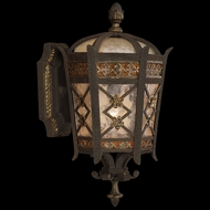 Fine Art Handcrafted Lighting 404781 Chateau 15 inch outdoor wall sconce in solid brass