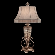 Fine Art Lamps 411310-1 Pastiche Traditional Silver Table Lighting