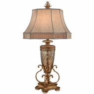 Fine Art Lamps 411310-2 Pastiche Traditional Gold Lighting Table Lamp