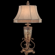 Fine Art Lamps 411310 Pastiche Traditional Rustic Table Lamp Lighting