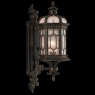 Fine Art Handcrafted Lighting 413781 Devonshire 23 inch outdoor wall sconce in Marbella wrought iron