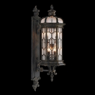 Fine Art Handcrafted Lighting 413881 Devonshire 32 inch outdoor wall mount sconce in Antiqued Bronze