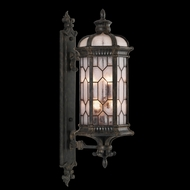 Fine Art Handcrafted Lighting 414081 Devonshire 44 inch outdoor wall mount sconce in Antiqued Bronze