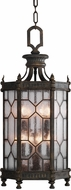 Fine Art Lamps 414282-1 Devonshire Traditional Antiqued Bronze Exterior Pendant Hanging Light