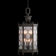 Fine Art Lamps 414282 Devonshire 37 inch outdoor hanging lantern in Antiqued Bronze