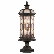 Fine Art Lamps 414483-1 Devonshire Traditional Antiqued Bronze Outdoor Pier Mount