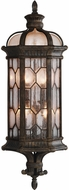 Fine Art Handcrafted Lighting 414981-1 Devonshire Traditional Antiqued Bronze Exterior Sconce Lighting