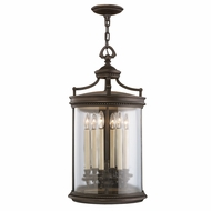 Fine Art Lamps 538182 Louvre Bronze Outdoor Ceiling Pendant Light