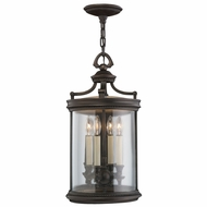 Fine Art Lamps 538282 Louvre Bronze Exterior Drop Ceiling Light Fixture