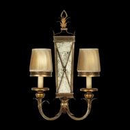 Fine Art Lamps 548250 Newport Classic 2-light Wall Lamp with Shades