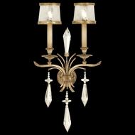 Fine Art Lamps 567950 Monte Carlo 2-lamp Crystal Wall Sconce Lighting