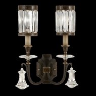 Fine Art Handcrafted Lighting 583050 Eaton Place Black Wall Sconce Lighting