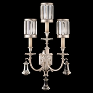 Fine Art Handcrafted Lighting 583150-2 Eaton Place Silver Wall Lighting Sconce