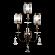 Fine Art Handcrafted Lighting 583150 Eaton Place Black Lighting Wall Sconce