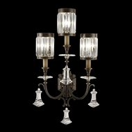 Fine Art Lamps 583150 Eaton Place Extra Large 3-light Traditional Crystal Wall Lighting Fixture