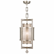 Fine Art Handcrafted Lighting 590040-2 Singapore Moderne Silver Lighting Pendant