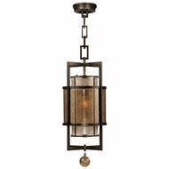 Fine Art Handcrafted Lighting 590040 Singapore Moderne Bronze Pendant Light