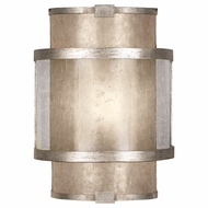 Fine Art Handcrafted Lighting 590550-2 Singapore Moderne Silver Wall Mounted Lamp