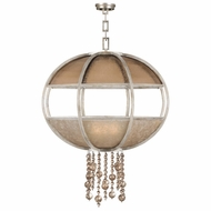 Fine Art Handcrafted Lighting 600340-2 Singapore Moderne Silver Drop Lighting