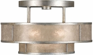 Fine Art Handcrafted Lighting 600940-2 Singapore Moderne Silver Ceiling Light Fixture