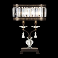 Fine Art Lamps 606010 Eaton Place 2-light Traditional Crystal Table Lamp