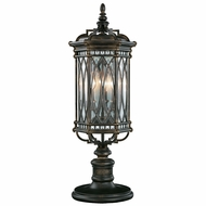 Fine Art Lamps 611283 Warwickshire Traditional Black Outdoor Pier Mount